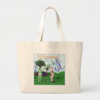 Yipee Cows Jumbo Tote Bag