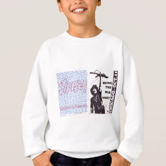yippie! - chicago aug 1968 flyer sweatshirt