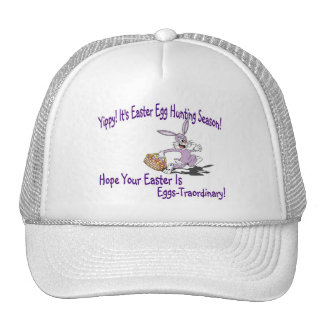 Yippy! It's Easter Egg Hunting Season! Trucker Hats