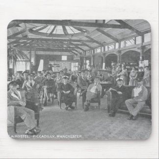 YMCA Hostel, Piccadilly, Manchester, c.1910 Mouse Pad