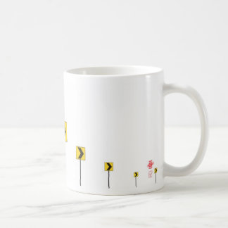 "YMy66"" road signs 1 Coffee Mug"