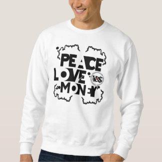 YNSC - Peace Love Money Sweatshirt