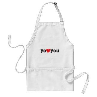 Yo heart You (I love you) Standard Apron