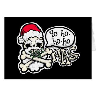 Yo ho ho ho! Merrrrrry Christmas, m'hearties! Card