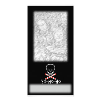Yo-ho-ho Holiday Photo Template Picture Card