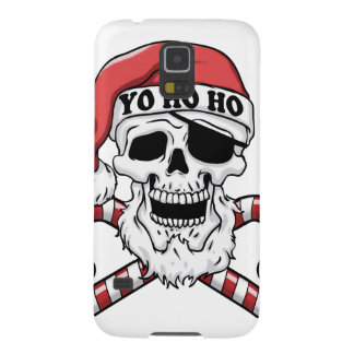 Yo ho ho - pirate santa - funny santa claus cases for galaxy s5