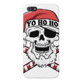 Yo ho ho - pirate santa - funny santa claus iPhone 5 case