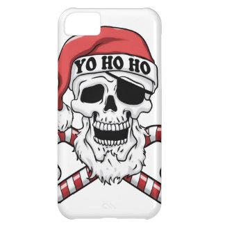 Yo ho ho - pirate santa - funny santa claus iPhone 5C case