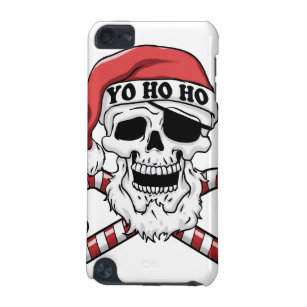Yo ho ho - pirate santa - funny santa claus iPod touch 5G cover