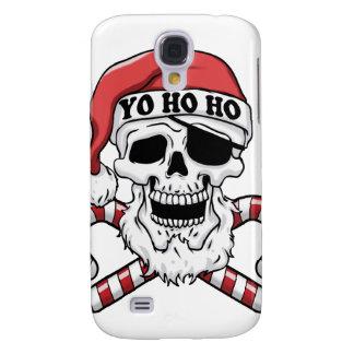 Yo ho ho - pirate santa - funny santa claus samsung galaxy s4 case