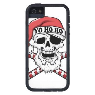 Yo ho ho - pirate santa - funny santa claus tough xtreme iPhone 5 case