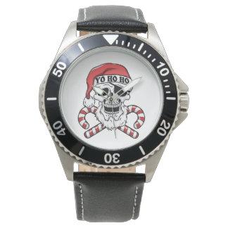 Yo ho ho - pirate santa - funny santa claus watch