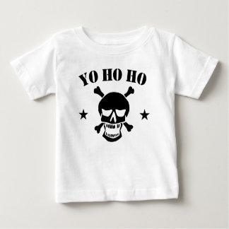 Yo Ho Ho Pirate Skull Baby T-Shirt