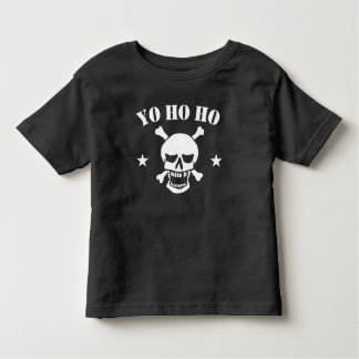 Yo Ho Ho Pirate Skull Toddler T-Shirt