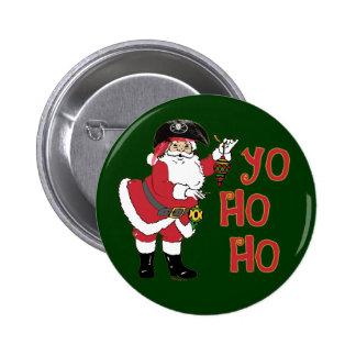 Yo Ho Ho Santa Button