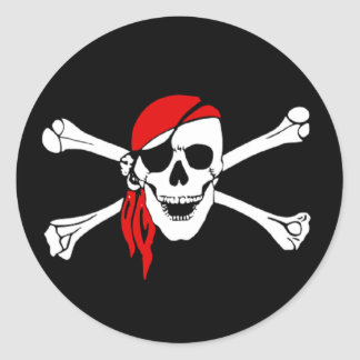 Yo Ho Pirate Sticker 2