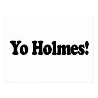 Yo Holmes Postcard