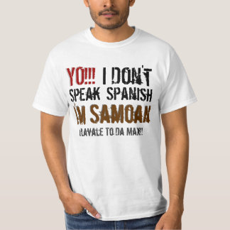 YO!!!, I , Don't, Speak, Spanish, I'm, I... T-Shirt