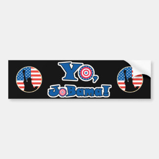 Yo Jobama (Obama), Statue Of Liberty Patriotic ... Bumper Sticker