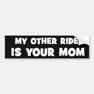 Yo Momma Bumper Sticker