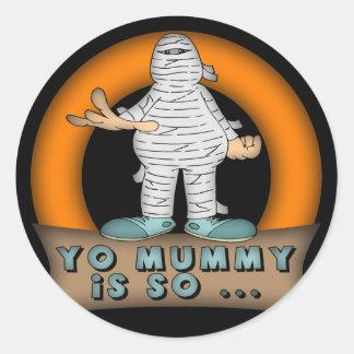 Yo Mummy Stickers