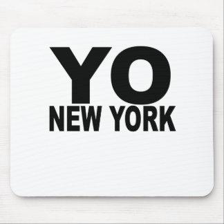 YO New York T-Shirts . Mouse Pad