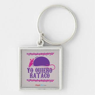 Yo Quiero Rataco Key Ring