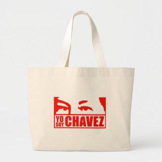 Yo Soy Chávez - Hugo Chávez - Venezuela Large Tote Bag