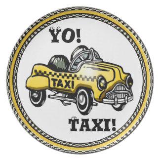 Yo! Taxi! Plate