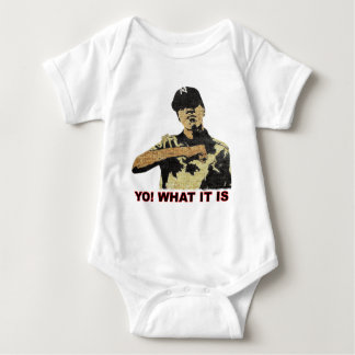Yo! What it is. Hip Hop Baby Bodysuit