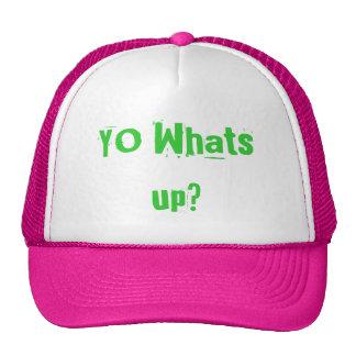 YO Whats up? Cap