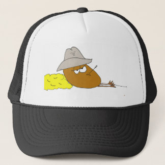 Yoakie the Pickled Egg is just Chillin Trucker Hat
