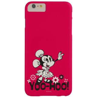Yodelberg Minnie | Black and White Wave Barely There iPhone 6 Plus Case
