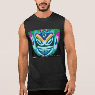 YOG MAYA:  EDIT n change FUNNY TEXT Sleeveless Shirt