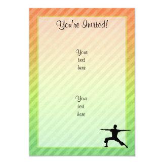 Yoga 13 Cm X 18 Cm Invitation Card