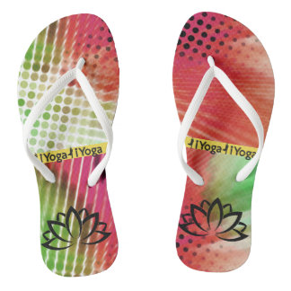 Yoga | Abstract | Colorful Thongs