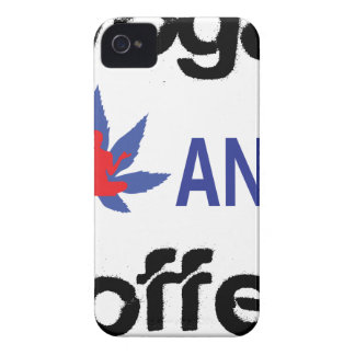 YOGA AND COFFEE Case-Mate iPhone 4 CASE
