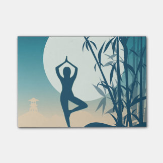 Yoga at Dawn Post-it Notes
