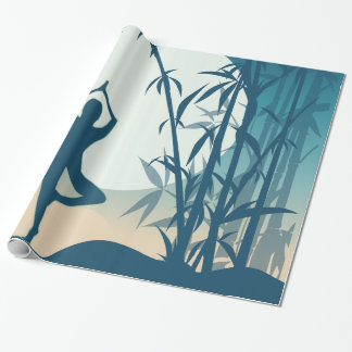 Yoga at Dawn Wrapping Paper