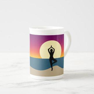 Yoga at Sunset Mug