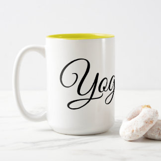 Yoga Bae Two-Tone Coffee Mug
