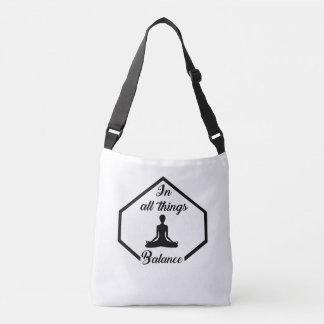 Yoga Balance Crossbody Bag
