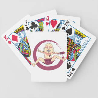 Yoga Bicycle Playing Cards