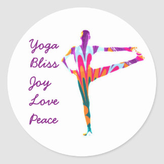 Yoga Bliss Sticker