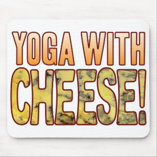 Yoga Blue Cheese Mouse Pad