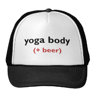 Yoga Body (+ beer) Light apparel Cap