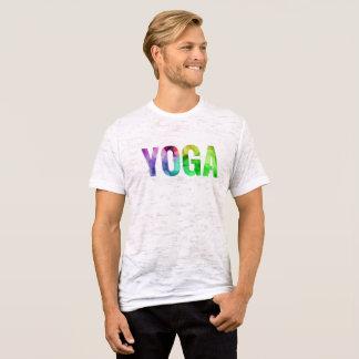 Yoga Bokeh Typography T-Shirt