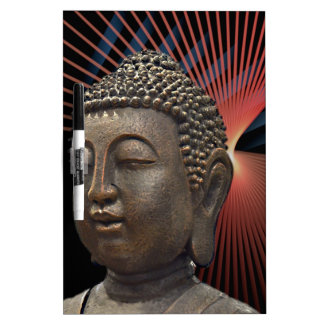 Yoga Buddha Relaxing Style Dry Erase Boards
