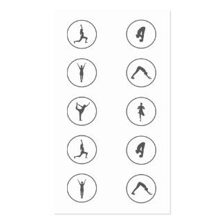 Yoga Business Card 10 Class Pass