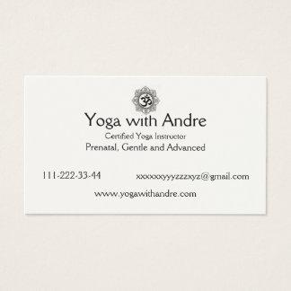 Yoga cards OM